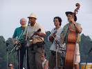 Closing ceremony at Clearwater with Pete Seeger, Guy Davis and Marc Murphy